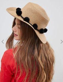 Pieces Straw Hat £18
