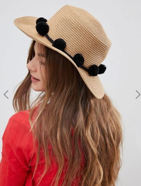 Pieces Straw Hat £18