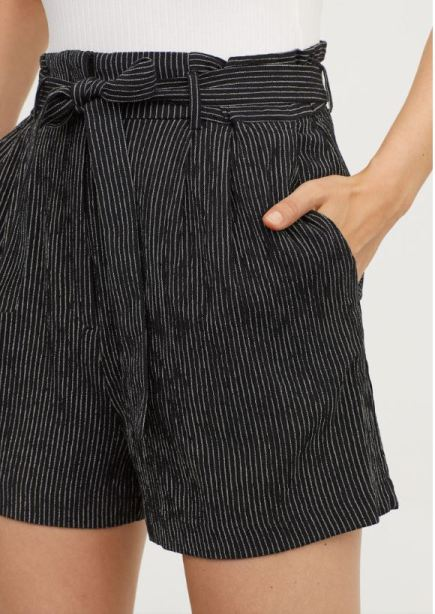 H&M Paper Bag shorts £19.99