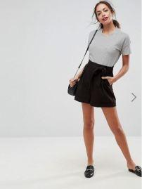 ASOS Design Paper Bag Shorts £22