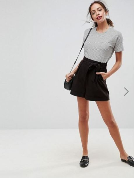 ASOS Design Paper Bag Shorts £22