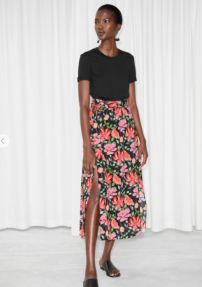 & Other Stories Crepe Skirt £69